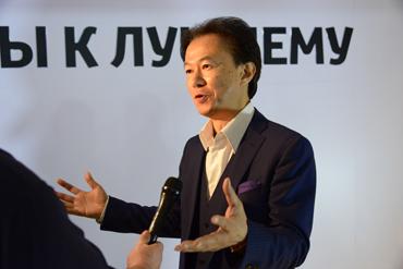 Эцуо Хасино, президент компании Тойота Мотор Казахстан 2014-2017