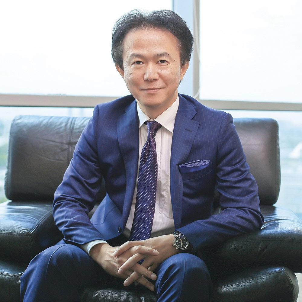 Президент компании Тойота Мотор Казахстан Эцуо Хасино с 2014 по 2016 годы