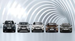 Новый автомобиль Toyota